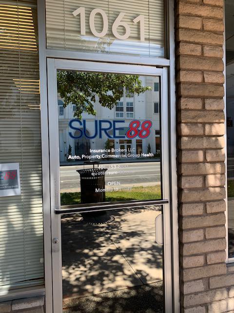 Office front door